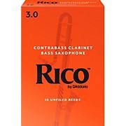 Rico Contra-Alto/Contrabass Clarinet Reeds, Box of 10