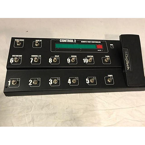Digitech Control 2 Pedal Board