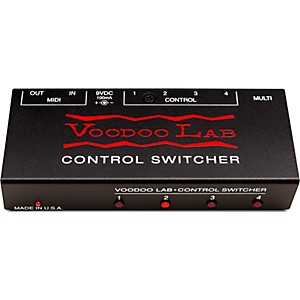 Voodoo Lab Control Switcher Guitar Footswitch by Voodoo Lab