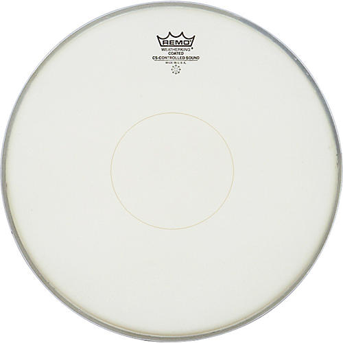 Remo Controlled Sound Coated Clear Dot Bottom Dot Snare Batter