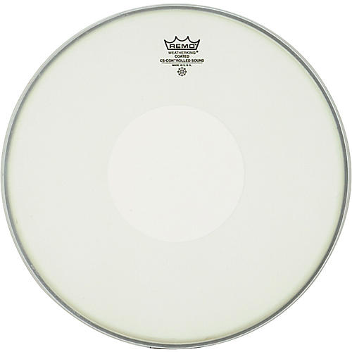 Remo Controlled Sound Coated Dot Top Snare Batter  14 in.