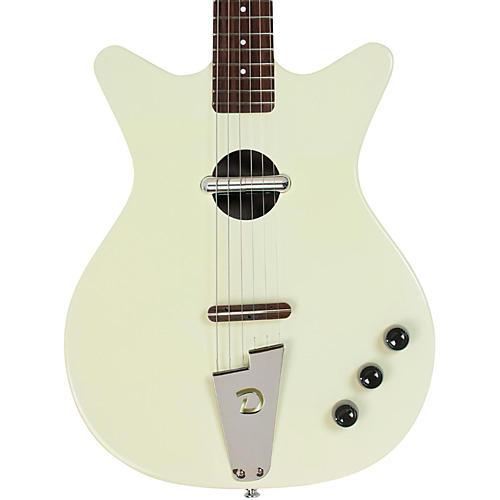 Danelectro Convertible Acoustic-Electric Guitar Cream