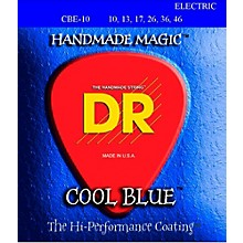DR Strings Cool Blue Coated Electric Strings Medium (10-46)