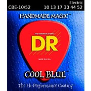 DR Strings Cool Blue Coated Electric Strings Medium (10-52)
