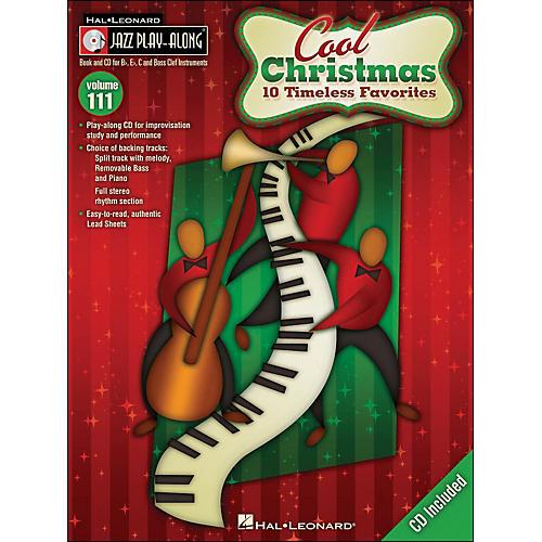 Hal Leonard Cool Christmas - Jazz Play-Along Volume 111 (CD/Pkg)-thumbnail