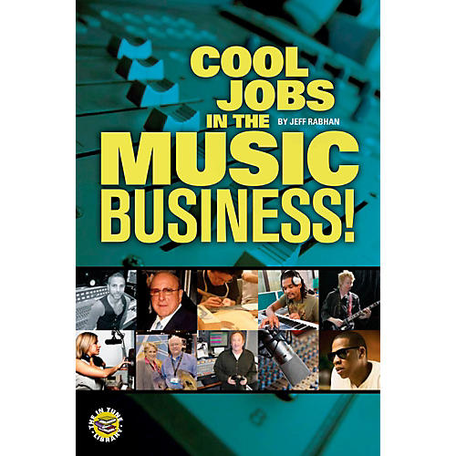 Hal Leonard Cool Jobs in the Music Business Book/DVD