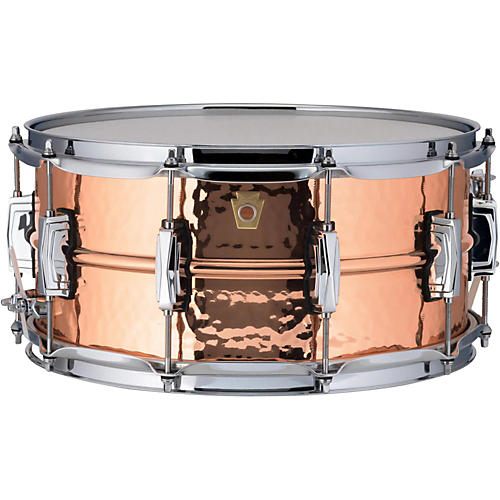Ludwig Copper Phonic Hammered Snare Drum-thumbnail