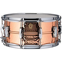 Ludwig Copper Phonic Hammered Snare Drum Level 1 14 x 6.5 in. Copper Finish with Imperial Lugs