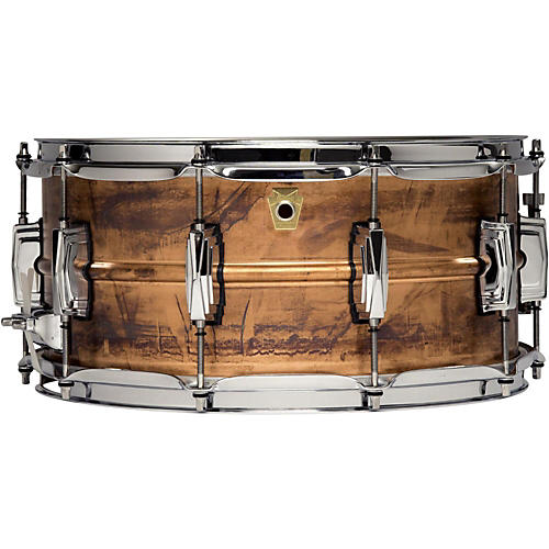 Ludwig Copper Phonic Snare Drum-thumbnail