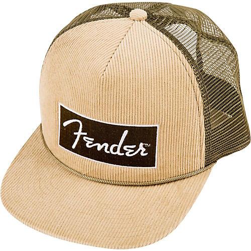 Fender Corduroy Trucker Cap, One Size-thumbnail