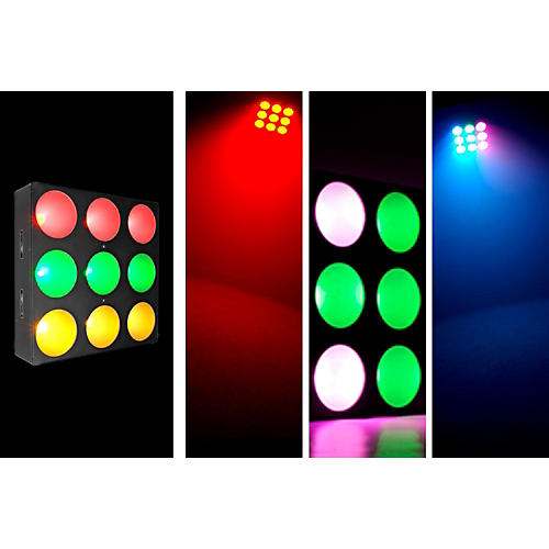 CHAUVET DJ Core 3x3 LED Pixel-Mapping Effect/Wash Light with Chip-on-Board Technology-thumbnail