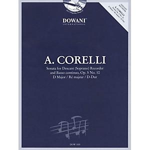 Dowani Editions Corelli: Sonata for Descant Soprano Recorder and Basso Cont... by Dowani Editions