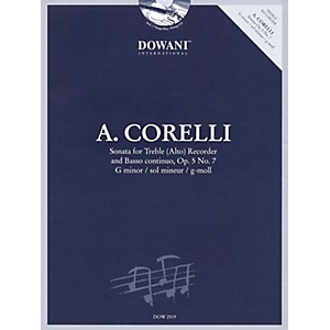 Dowani Editions Corelli: Sonata for Treble Alto Recorder and Basso Continuo... by Dowani Editions