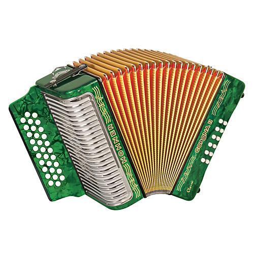 Hohner Corona II Classic, Key of
