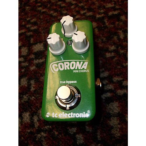 TC Electronic Corona Mini Chorus Effect Pedal