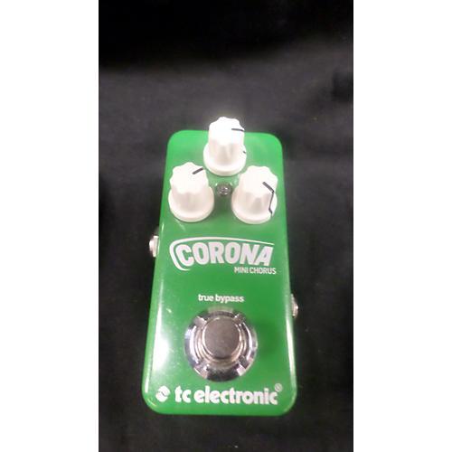 TC Electronic Corona Mini Chorus Effect Pedal-thumbnail