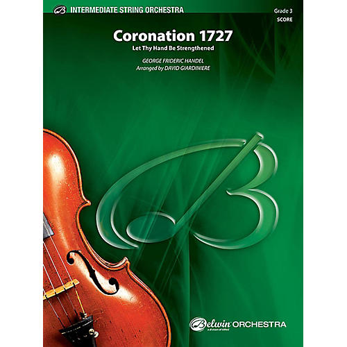 Alfred Coronation 1727 String Orchestra Grade 3 Set
