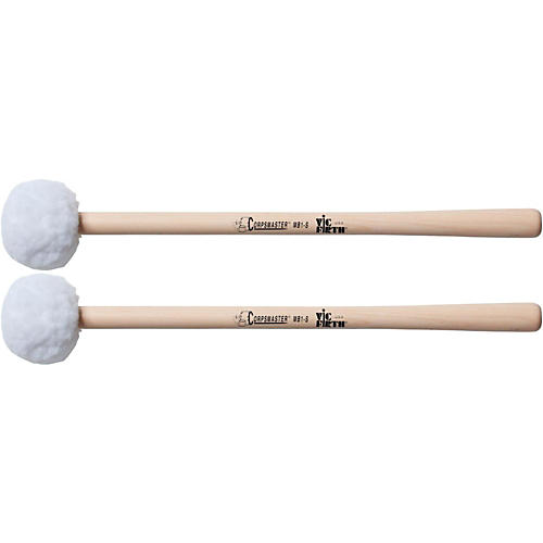 Vic Firth Corpsmaster Marching Bass Mallets Soft Small