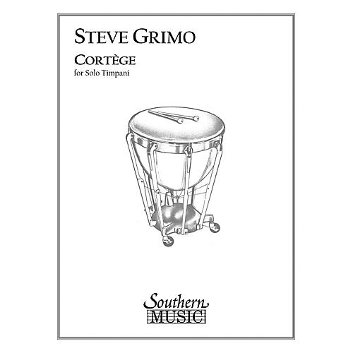 Hal Leonard Cortege (Percussion Music/Timpani - Other Musi) Southern Music Series Composed by Grimo, Steve