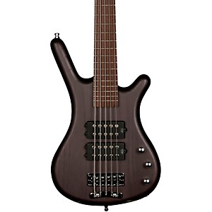 RockBass by Warwick Corvette $$ 5 String Electric Bass Guitar with Wenge Fi...