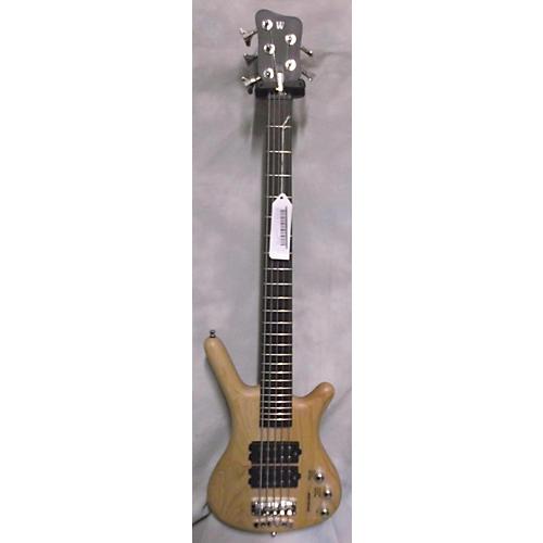 Warwick Corvette Double Buck 5 String Blonde Electric Bass Guitar-thumbnail