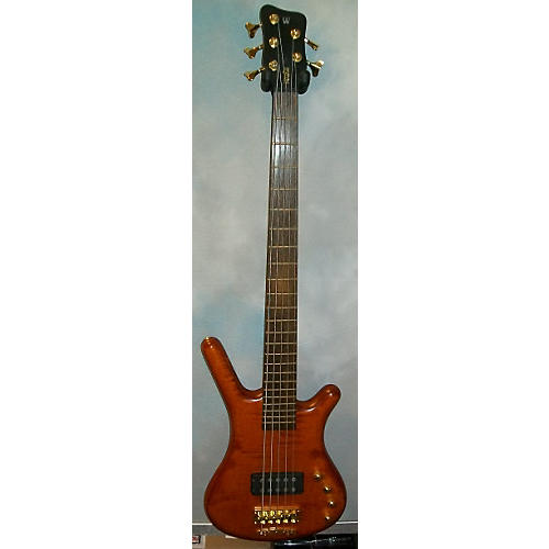Warwick Corvette Single Buck 5 String Electric Bass Guitar-thumbnail