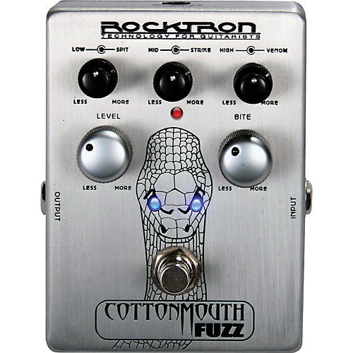 Rocktron Cotton Mouth Fuzz Guitar Effects Pedal-thumbnail