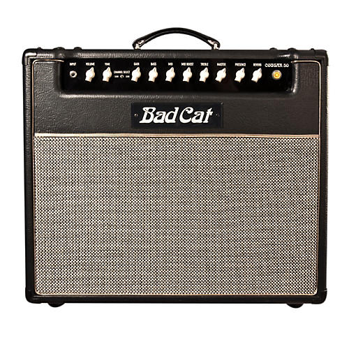 Bad Cat Cougar 50 50W Class AB Tube Guitar Combo Amp