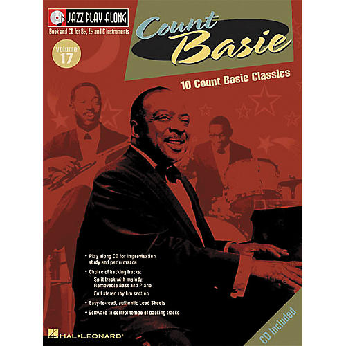 Hal Leonard Count Basie - Jazz Play Along, Volume 17 (Book/CD)