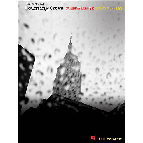 Hal Leonard Counting Crows - Saturday Nights & Sunday Mornings arranged for piano, vocal, and guitar (P/V/G)-thumbnail