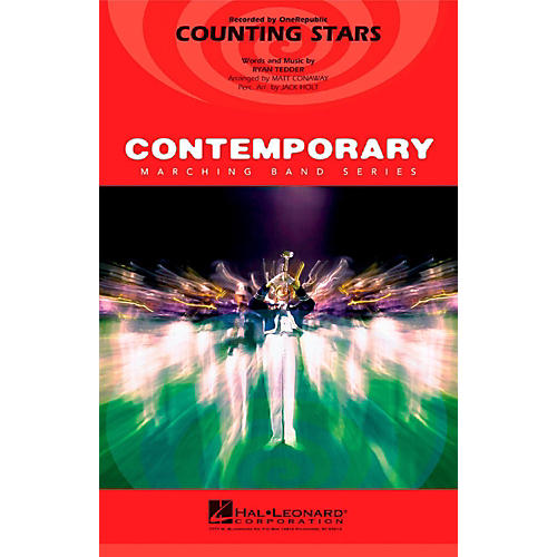 Hal Leonard Counting Stars - Pep Band/Marching Band Level 3