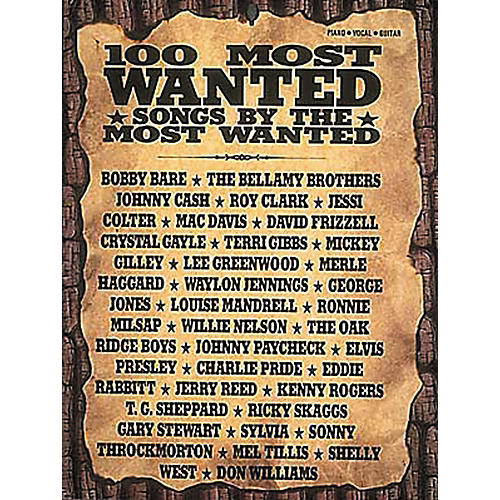 Hal Leonard Country - 100 Most Wanted Piano, Vocal, Guitar Songbook-thumbnail