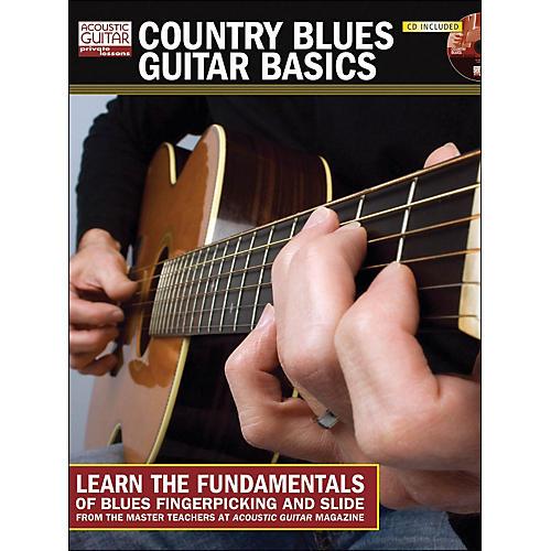Hal Leonard Country Blues Guitar Basics Book/CD)-thumbnail