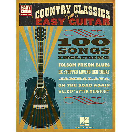 Hal Leonard Country Classics for Easy Guitar (with Tab)
