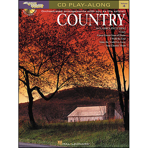 Hal Leonard Country E-Z Play Today CD Playalong Volume 4 Book/CD-thumbnail