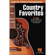 Hal Leonard Country Favorites - Guitar Chord Songbook