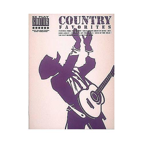 Hal Leonard Country Favorites Easy Guitar Tab Songbook-thumbnail