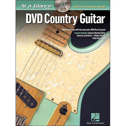 Hal Leonard Country Guitar At A Glance Book/DVD-thumbnail
