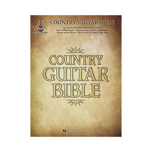 Hal Leonard Country Guitar Bible Tab Book-thumbnail