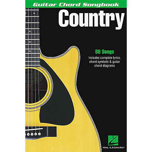 Hal Leonard Country Guitar Chord Songbook-thumbnail