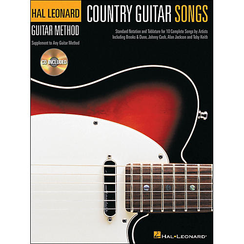 Hal Leonard Country Guitar Songs - Hal Leonard Guitar Method Supplement (Book/CD)