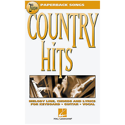 Hal Leonard Country Hits - 2nd Edition Book