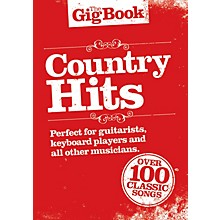Music Sales Country Hits Lead Sheets: Melody line, lyrics and chord symbols Series Softcover Performed by Various