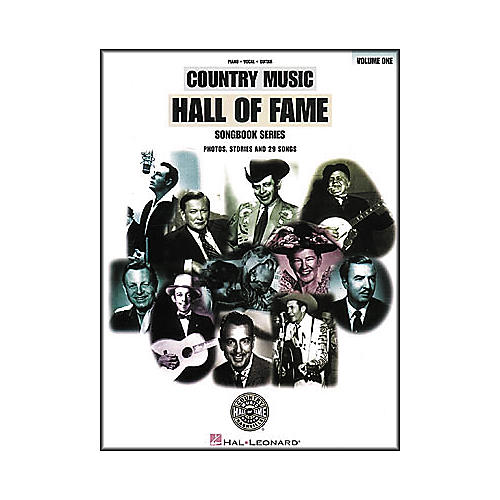 Hal Leonard Country Music Hall Of Fame Volume 1 Piano/Vocal/Guitar Songbook