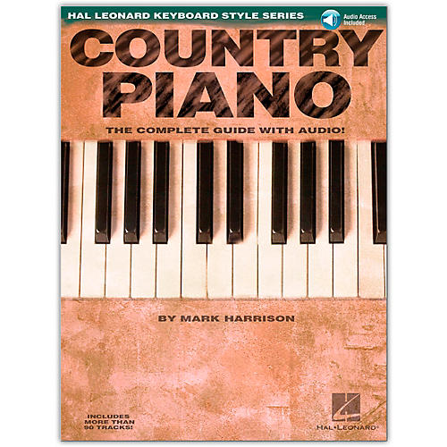 Hal Leonard Country Piano Book/CD Hl Keyboard Style Series