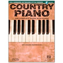 Hal Leonard Country Piano Hl Keyboard Style Series (Book/Online Audio)