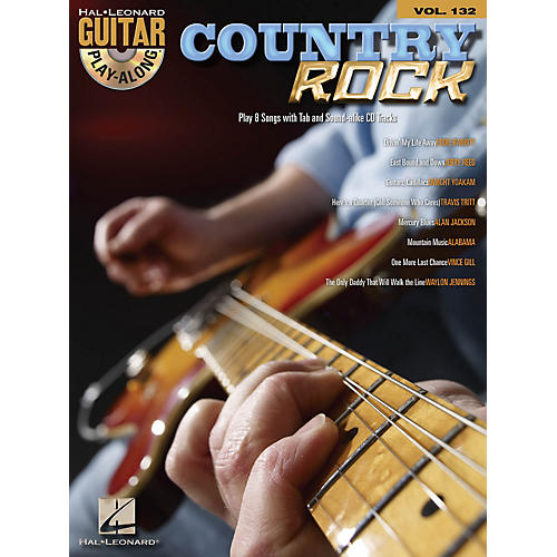 Hal Leonard Country Rock - Guitar Play-Along Volume 132 Book/CD