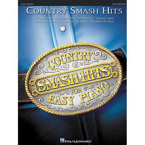 Hal Leonard Country Smash Hits For Easy Piano 2nd Edition