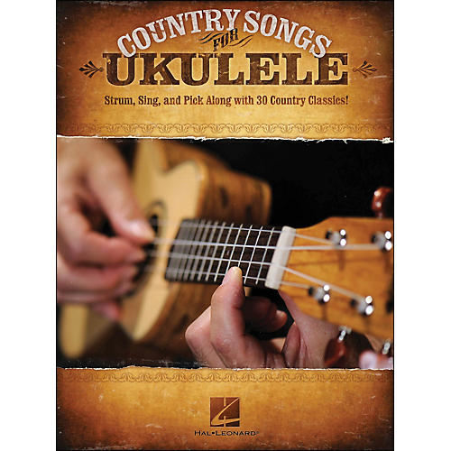 Hal Leonard Country Songs for Ukulele-thumbnail
