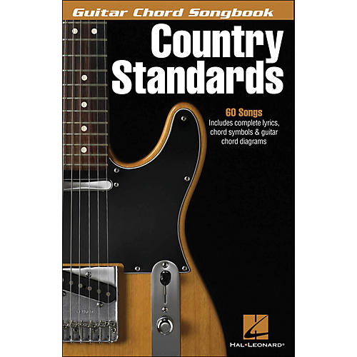 Hal Leonard Country Standards Guitar Chord Songbook-thumbnail